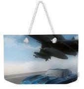 Wild Blue Weekender Tote Bag