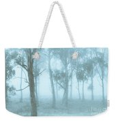 Wild Blue Woodland Weekender Tote Bag
