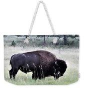 Wild Buffalo Weekender Tote Bag