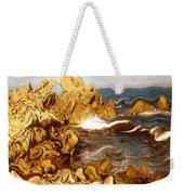 Wild California Coast - Modern Art Weekender Tote Bag