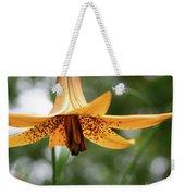Wild Canadian Lily Weekender Tote Bag
