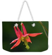 Wild Columbine Wildflower Weekender Tote Bag