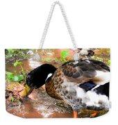 Wild Duck Mallard 1 Weekender Tote Bag