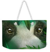 Wild Eyes - Giant Panda Weekender Tote Bag