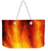 Wild Fire 04 Weekender Tote Bag