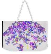 Wild Flower Bouquet Weekender Tote Bag