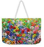 Wild Flower Meadow Weekender Tote Bag