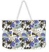Wild Flower Weekender Tote Bag