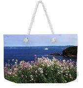 Wild Flowers And Iceberg Weekender Tote Bag