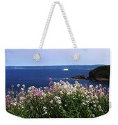 Wild Flowers And Iceberg Weekender Tote Bag