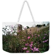 Wild Flowers At The Old Fortress Weekender Tote Bag