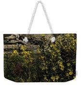 Wild Flowers Weekender Tote Bag