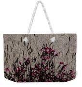 Wild Flowers On The Wall Weekender Tote Bag