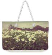 Wild Flowers Soft Weekender Tote Bag