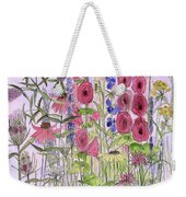 Wild Garden Flowers Weekender Tote Bag