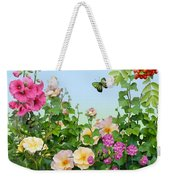 Wild Garden Weekender Tote Bag by Ivana Westin