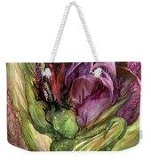 Wild Garden Tulips Weekender Tote Bag