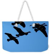 Wild Geese In The West Weekender Tote Bag