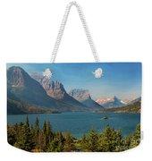 Wild Goose Island - Glacier National Park Weekender Tote Bag