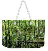 Wild Goose Woods Pond Iv Weekender Tote Bag