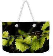 Wild Grape Leaves Weekender Tote Bag