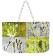 Wild Grass Collage 2 Weekender Tote Bag