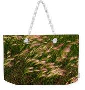 Wild Grasses Weekender Tote Bag