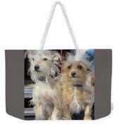 Wild Hair Dogs Weekender Tote Bag