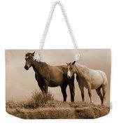 Wild Horses In Western Dakota Weekender Tote Bag
