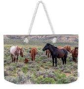 Wild Horses Of White Mountain Weekender Tote Bag
