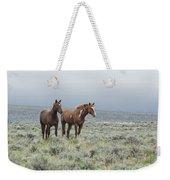 Wild Horses - Steens 1 Rw Weekender Tote Bag