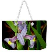Wild Iris Weekender Tote Bag