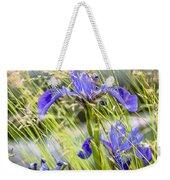 Wild Irises Weekender Tote Bag by Marty Saccone