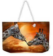 Wild Kisses Weekender Tote Bag