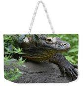 Wild Komodo Dragon Crawling Through Nature Weekender Tote Bag