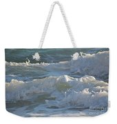 Wild Mediterranean Waves Weekender Tote Bag