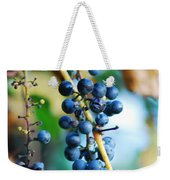 Wild Michigan Grapes Weekender Tote Bag