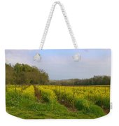 Wild Mustard Fields Weekender Tote Bag