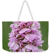 Wild Pink Spotted Orchid Weekender Tote Bag
