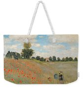 Wild Poppies Near Argenteuil Weekender Tote Bag