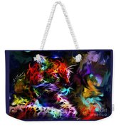 Wild Puma Colors Weekender Tote Bag