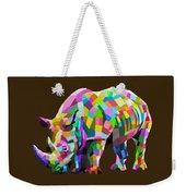 Wild Rainbow Weekender Tote Bag