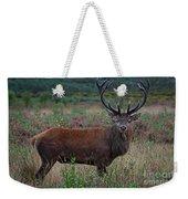 Wild Red Deer Stag Weekender Tote Bag