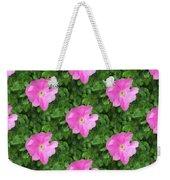 Wild Rose Pattern Weekender Tote Bag