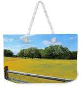 Wild Side Of The Fence Weekender Tote Bag