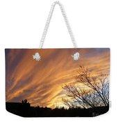 Wild Sky Of Autumn Weekender Tote Bag