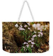 Wild Spring Beauty Weekender Tote Bag