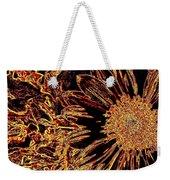 Wild Sunflower Abstract Weekender Tote Bag