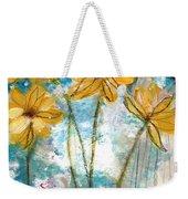 Wild Sunflowers- Art By Linda Woods Weekender Tote Bag