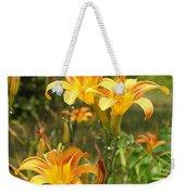 Wild Tiger Lilies Weekender Tote Bag